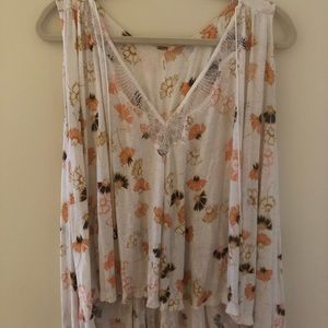 Free People Tank Top with Open Back